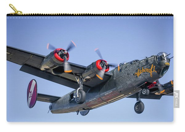B24 Liberator Landing At Livermore Carry-all Pouch