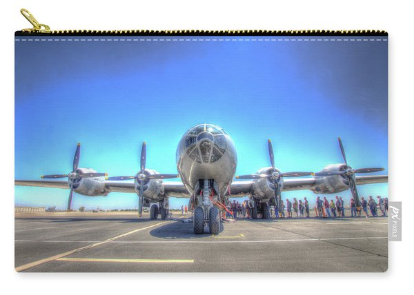 B29 Superfortress At Modesto Carry-all Pouch