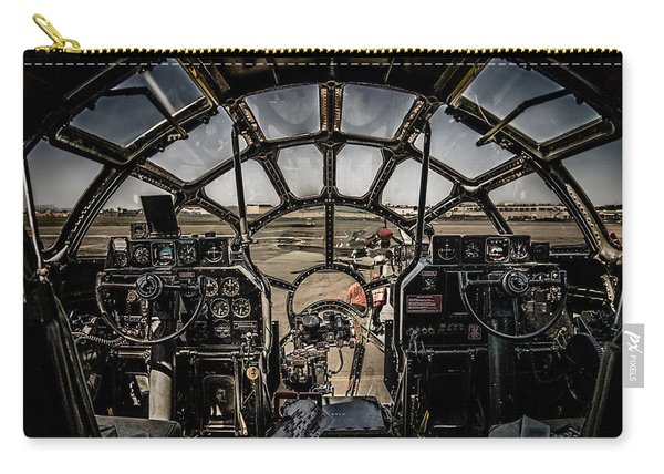 B29 Superfortress Fifi Cockpit View Carry-all Pouch