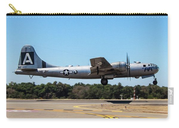 B29 Superfortress Takeoff At Modesto Carry-all Pouch