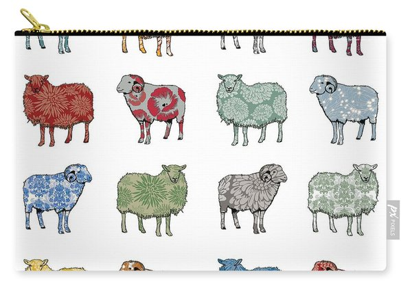 Baa Humbug Carry-all Pouch