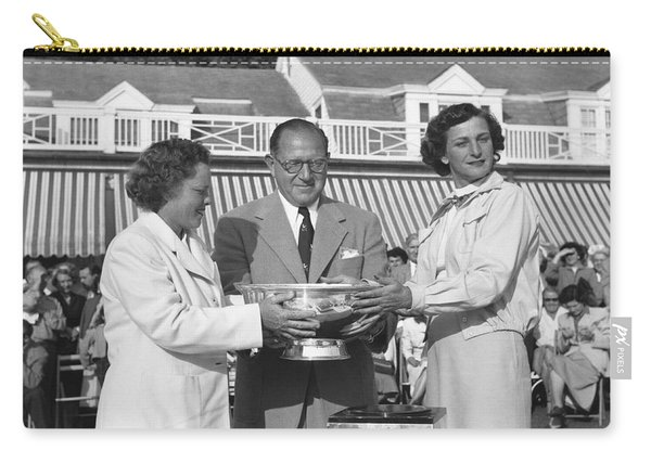 Babe Didrikson And Patty Berg Carry-all Pouch