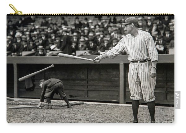 Babe Ruth At Bat Carry-all Pouch