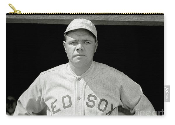 Babe Ruth Red Sox Carry-all Pouch