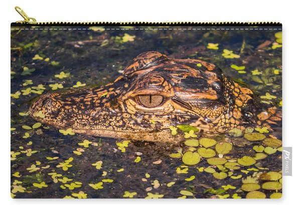 Baby Gator And Duckweed Carry-all Pouch
