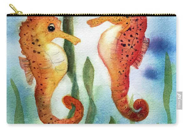 Baby Seahorses Carry-all Pouch