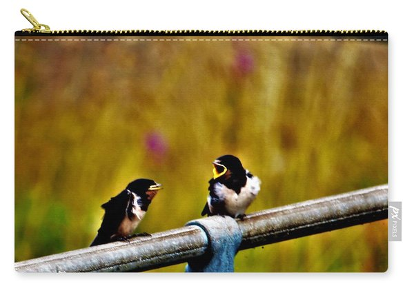 Baby Swallows Carry-all Pouch