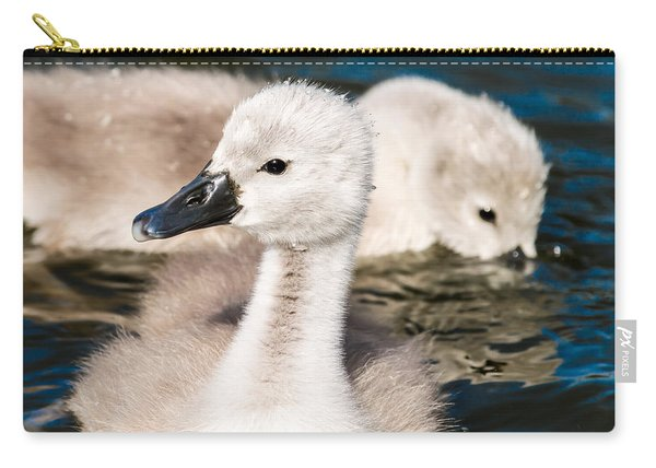 Baby Swan Close Up Carry-all Pouch