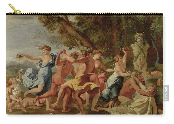 Bacchanal Before A Herm Carry-all Pouch