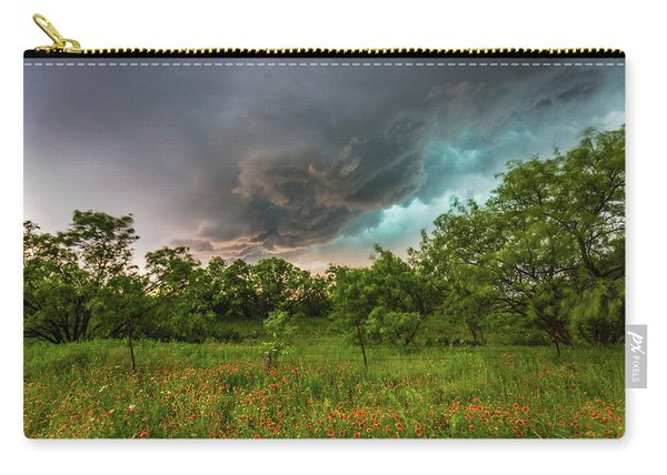 Back To Life - Spring Returns To Western Texas Carry-all Pouch