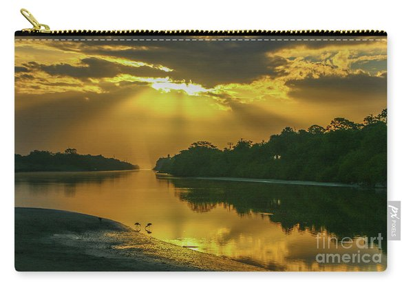 Carry-all Pouch featuring the photograph Back Up Reflection by Tom Claud
