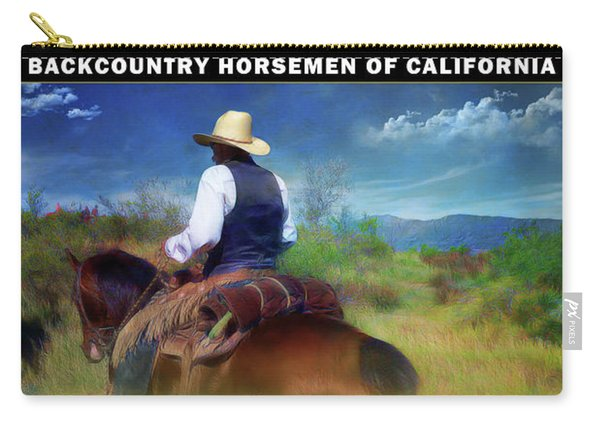 Backcountry Horsemen Join Us Poster Carry-all Pouch
