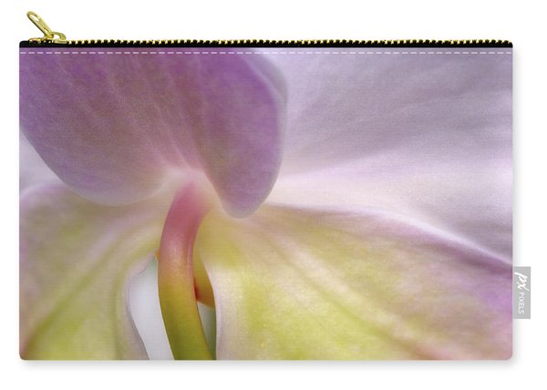 Backlit Orchid Carry-all Pouch