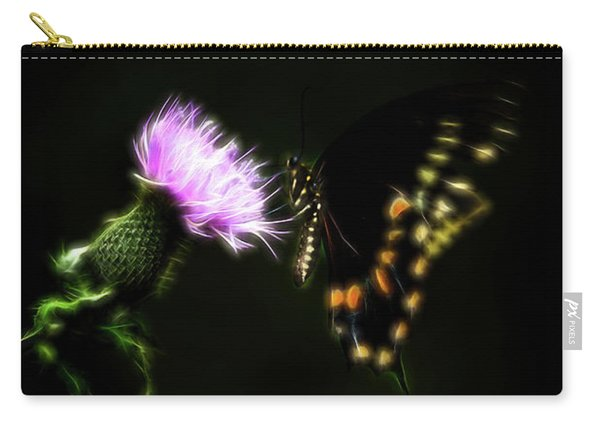 Backroad Butterfly Carry-all Pouch