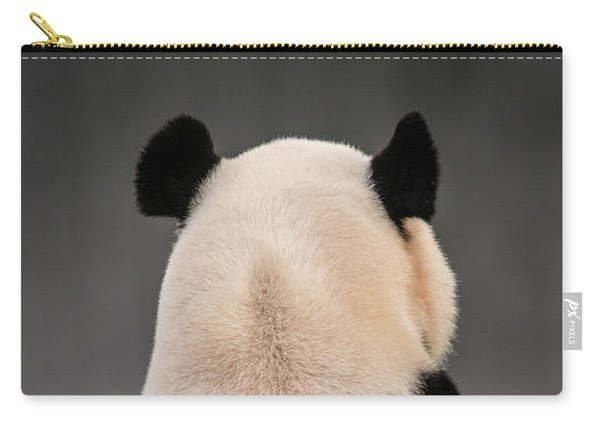 Backward Panda Carry-all Pouch