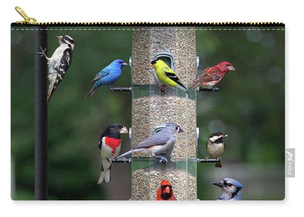Backyard Bird Feeder Carry-all Pouch