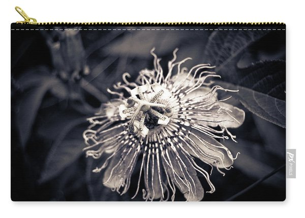 Clematis Flower Bloom Carry-all Pouch