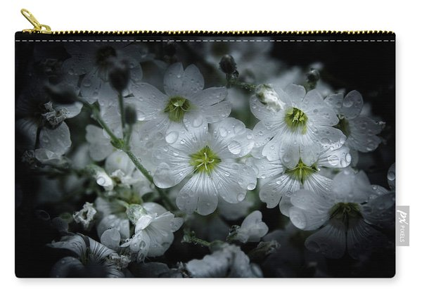 Backyard Flowers 51 Color Version Carry-all Pouch