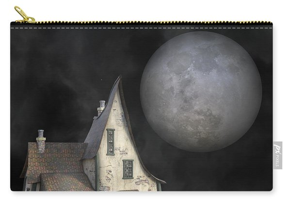 Backyard Moon Super Realistic  Carry-all Pouch