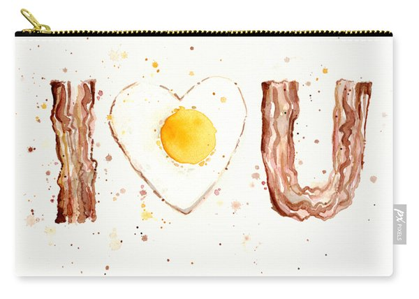 Bacon And Egg Love Carry-all Pouch