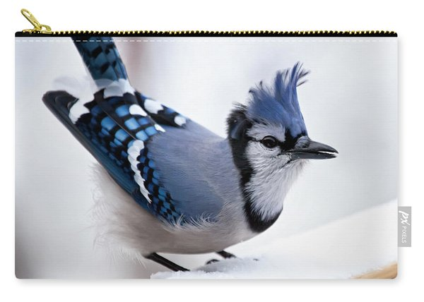Bad Feather Day Carry-all Pouch