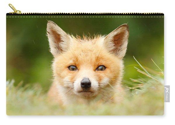 Bad Fur Day - Fox Cub Carry-all Pouch