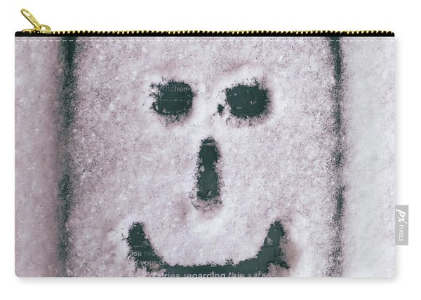 Bad Weather, Good Face Carry-all Pouch