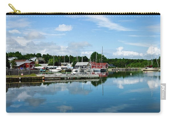 Baddeck Harbor Panorama Carry-all Pouch