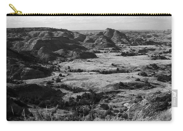 Badlands #4 Bw Carry-all Pouch
