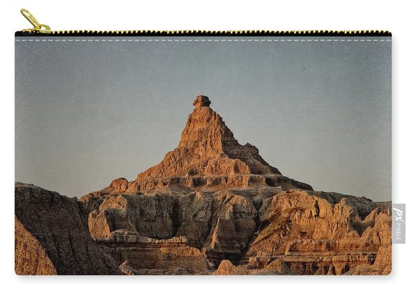 Badlands At Sunrise Carry-all Pouch
