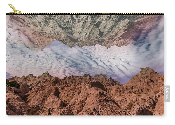 Badlands Reflection.... Carry-all Pouch