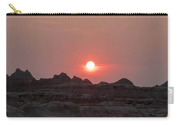 Badlands Sunset Carry-all Pouch