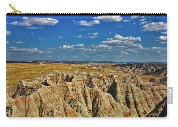 Badlands To Plains Carry-all Pouch