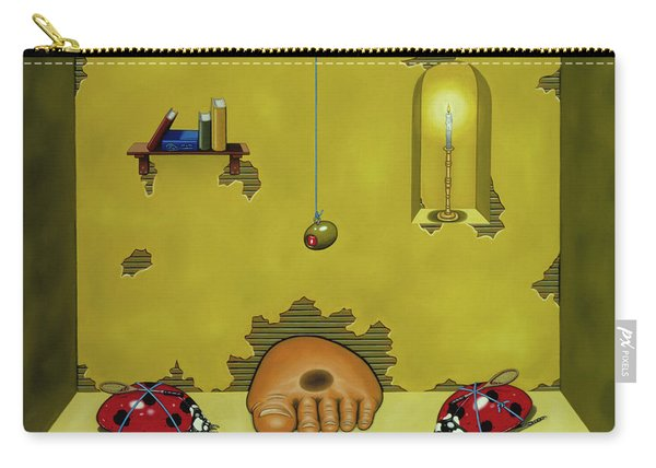 Badminton By Candlelight Carry-all Pouch