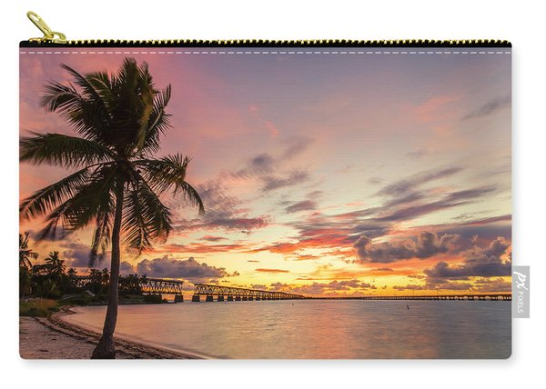 Bahia Honda State Park Sunset Carry-all Pouch