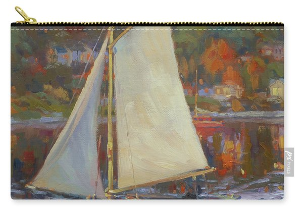Bainbridge Island Sail Carry-all Pouch