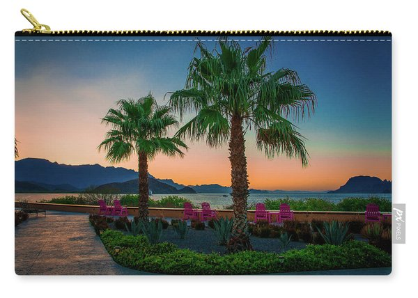 Baja Sunset Carry-all Pouch
