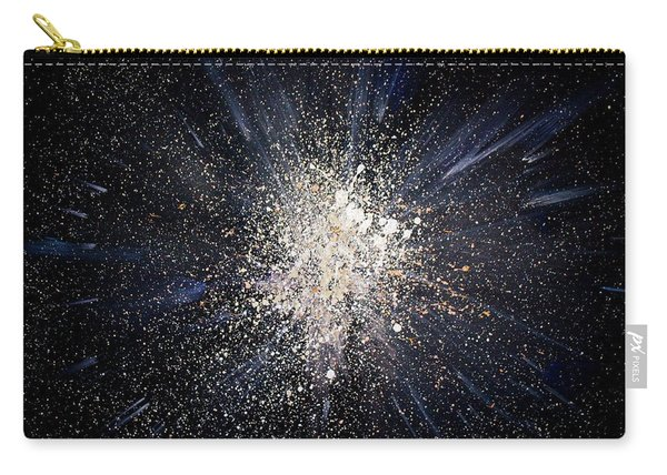 Carry-all Pouch featuring the painting Balance by Michael Lucarelli