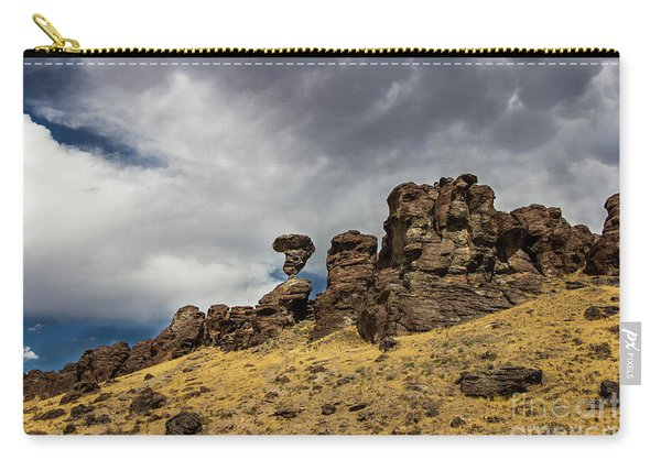 Balanced Rock Idaho Journey Landscape Photography By Kaylyn Franks Carry-all Pouch