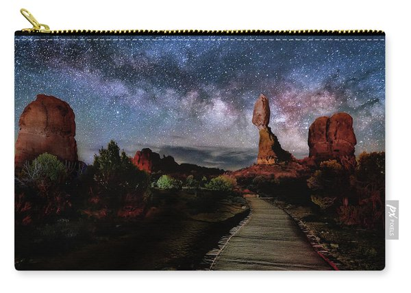 Balanced Rock Milky Way Carry-all Pouch