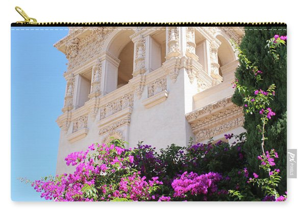 Balboa Park Hospitality House With Bougainvillea Carry-all Pouch