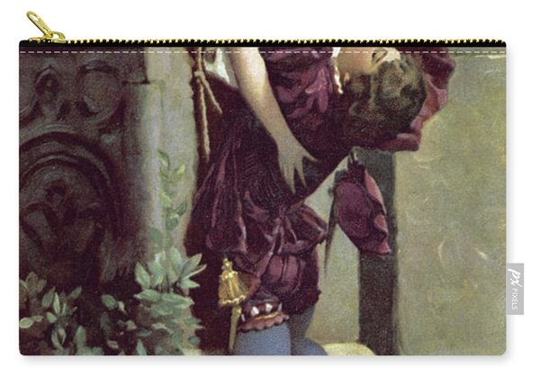 Balcony Scene, Romeo And Juliet Carry-all Pouch