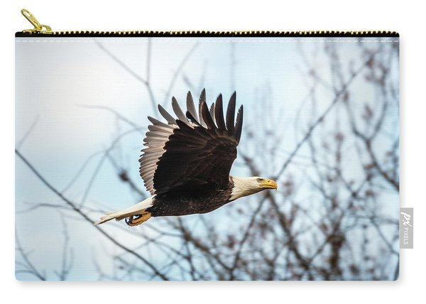 Bald Eagle Flight Carry-all Pouch