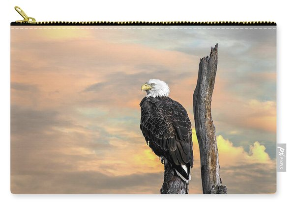 Bald Eagle Inspiration Carry-all Pouch