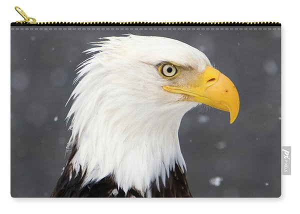 Bald Eagle Intensity Carry-all Pouch