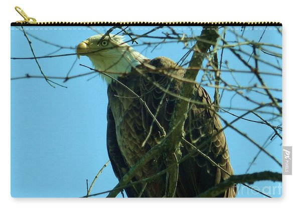Bald Eagle Keeping Guard Carry-all Pouch