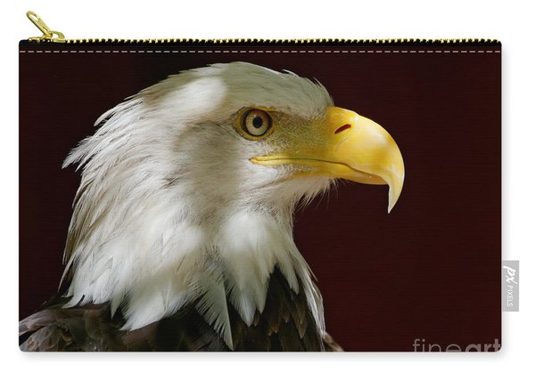 Bald Eagle - Majestic Portrait Carry-all Pouch