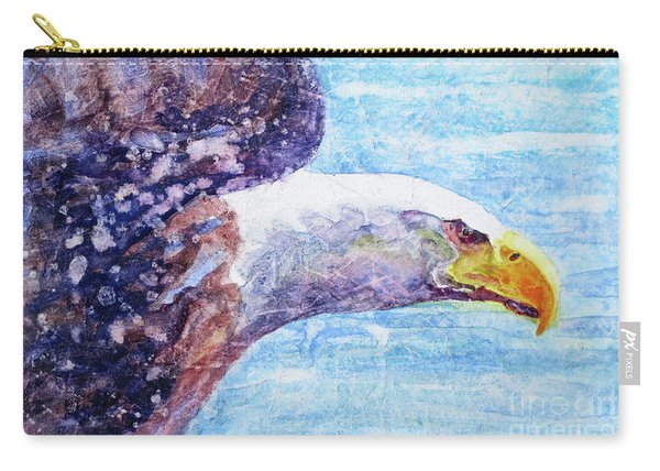 Bald Eagle Portrait 2 Carry-all Pouch
