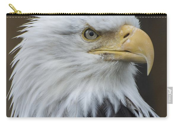 Bald Eagle Portrait Carry-all Pouch