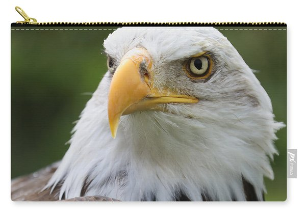 Bald Eagle Slick Back Carry-all Pouch
